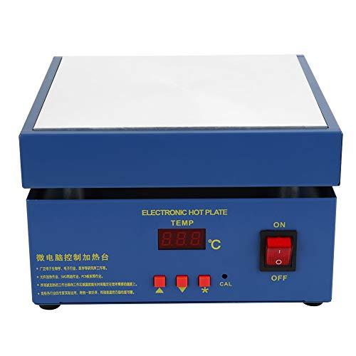 clasificación y comparación Estación de calentamiento 200 x 200 mm LED Microcomputadora Estación de precalentamiento … para casa