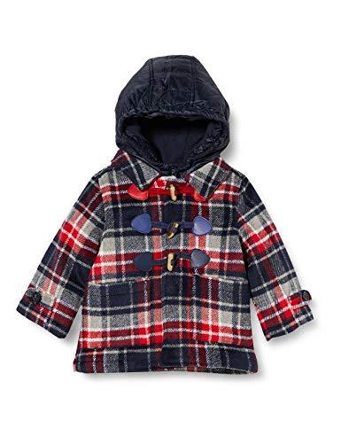 Chicco Baby-Jungen Montgomery+ Giubbino INTERNO Mantelkleid, Blu E Rosso, 86 cm