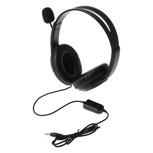 Kopfhörer für PS4 Stereo Wired Gaming Headset Kopfhörer mit Mikrofon für Playstation 4 Gamer