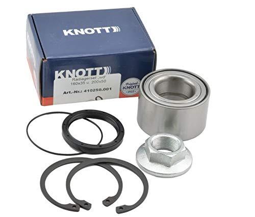 FKAnhängerteile 1 x Knott - Radlager- Set - Wasserdicht - Nr. 410250.001 - Lager Ø64 / Ø 34 x 37mm