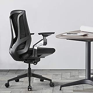 Ergonomic Office Chair High Back Mesh Desk Chair with 4D Arm Rests Computer Chair Height Adjustable,Black