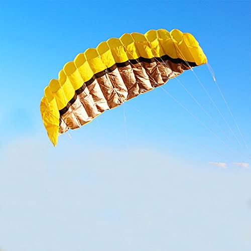 Mabor Pipa de Parafoil de Linha Dupla para Paraquedas de Linha Dupla com Ferramentas de Voo, Kit de Treinamento Parafoil Kitesurf para Crianças, Adultos, Jogos e Atividades ao Ar Livre