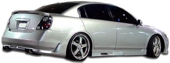 Cyber Rear Bumper Cover 1 Piece fits Nissan Altima 02-06 Duraflex