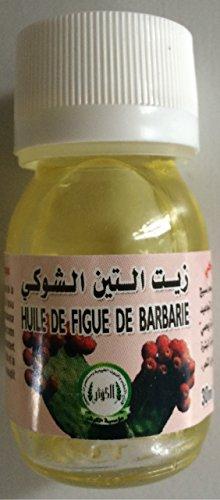 Huile de Figue de Barbarie 100% - 30ml - Anti Rides/Anti Taches/Brunes/Anti Cernes, Anti Poches. Huile de graine de figue de barbarie