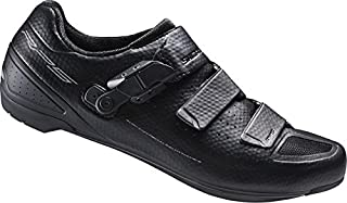 Shimano RP5, Unisex Adults' Road Biking Shoes, Black (black), 7.5 UK (43 EU)
