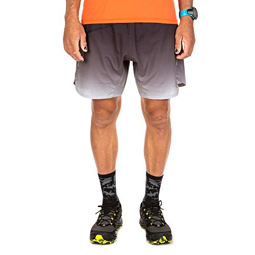 La Sportiva Mens Medal Short, Black/Cloud, X-Large