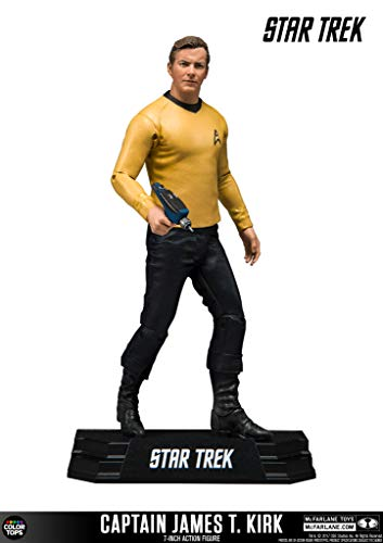 McFarlane- Star Trek Figure Captain James T. Kirk, Multicolor (13012-6)