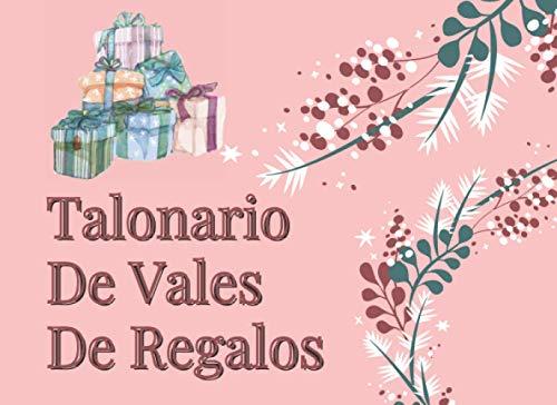 Talonario De Vales De Regalos: 20 vales de regalo para llenar y canjear - idea de regalo personalizada original para niños, mujeres, hombres