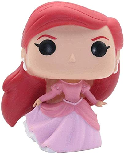 A-Generic Figura Pop Tiana Cenicienta/La Bella y La Bestia Bell/Rapunzel/Decoración de Coche de Sirena (Color: B) -A-A-Second