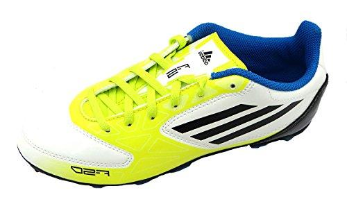 adidas F5TRX HG Jnr Sintetico da Calcio, F5 TRX HG Jnr, Bianco