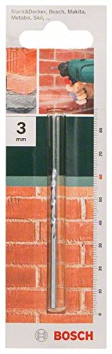 Bosch 2609255419 60mm Masonry Drill Bit with Diameter 3mm