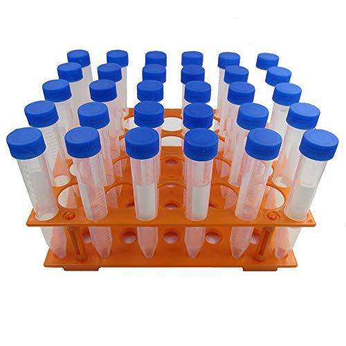 Conical Centrifuge Tube 15ml, PP Material, 200 Centrifuge Tubes&7 Racks