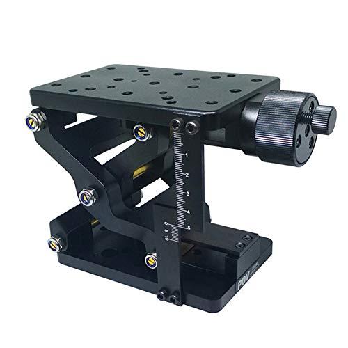 Motorized Translation Stage, 120Mm × 80Mm Precision Lifting Platform, Optical Sliding Lift, Load 20Kg, 60Mm Stroke, Vertical Lift Table Z-Axis Lab Jack