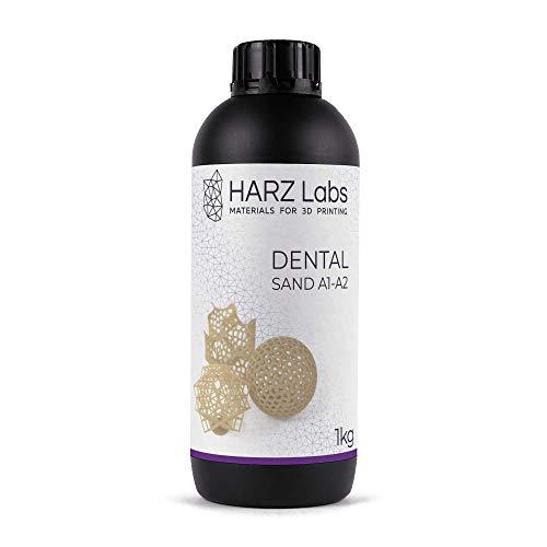 HarzLabs resina DENTAL A1-A2-1KG [para coronas, puentes provisionales]