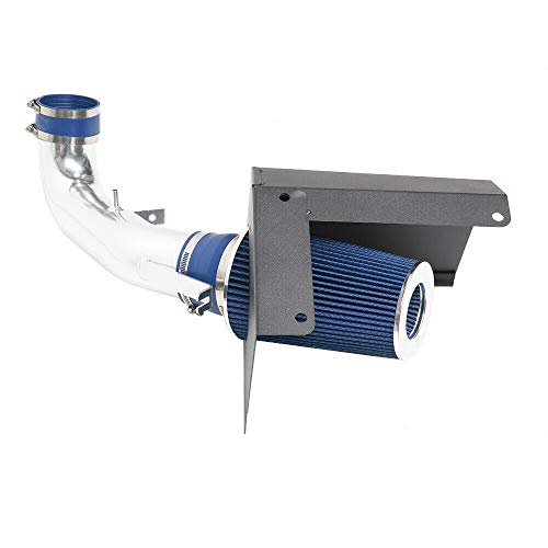 """MILLION PARTS 3.5"""" Intake Pipe With Air Filter Fit for 2007 2008 GMC/Chevrolet Silverado Sierra 4.8L/5.3L/6.0L/6.2L V8 Blue"""