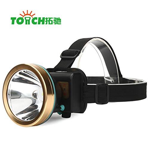 Sxgyubt LED-Scheinwerfer, wiederaufladbarer Akku, 30 W, Outdoor-Angelbeleuchtung One a