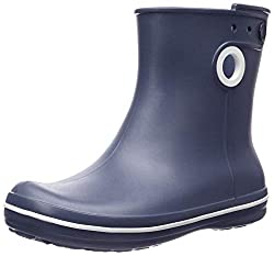 Crocs Jaunt Shorty Boot Women, Damen Gummistiefel, Blau (Navy 410), 39/40 EU