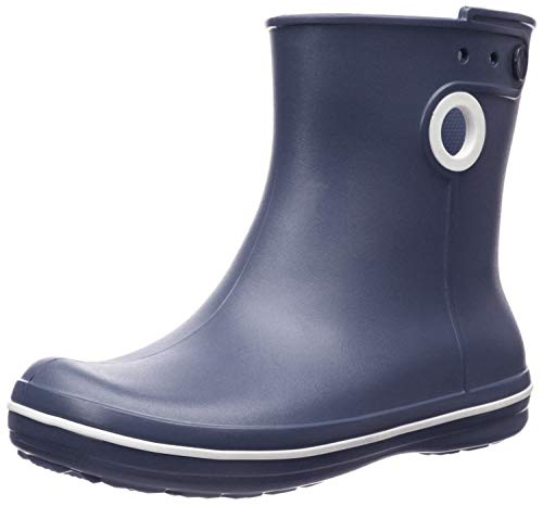 Crocs Jaunt Shorty Boot Women, Damen Gummistiefel, Blau (Navy 410), 41/42 EU
