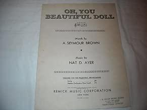 oh you beautiful doll sheet music