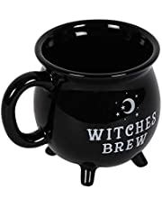 something different Witches Brew kubek, czarny