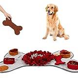 CHSEEO Snuffle Mat para Perros Estera de Alimentación Alfombrilla para Olfatear Entrenamiento Manta Alfombra de Actividades Juguetes Interactivos para Perros para Mascotas #3
