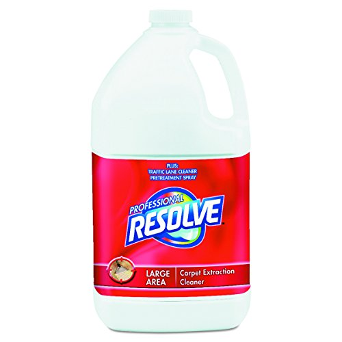 Professional RESOLVE 97161CT Carpet Extraction Cleaner Concentrate, 1gal Bottle (Case of 4)