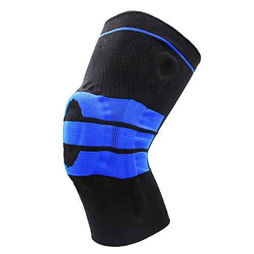 Bdclr Three-Color Nylon sport-kniepads silicone beschermkniebeschermers basketbal bergbeklimmen paardrijden gang anti-botsing ondersteuning