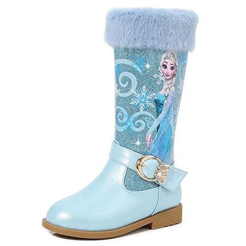 Ramonala Fille Bottes Elsa Princess Bottes Doublure Chaude...