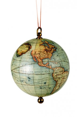 Globus aus dem Zeitalter der Entdeckung - Ornament