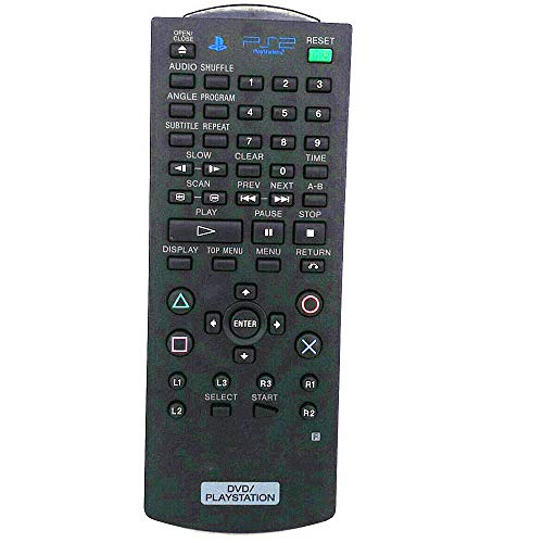 New Replacement Remote Control for Sony SCPH-10420 Playstation 2 PS2 DVD Player Built-in Receivers SCPH-5 SCPH-7 SCPH-9 SCPH-10150