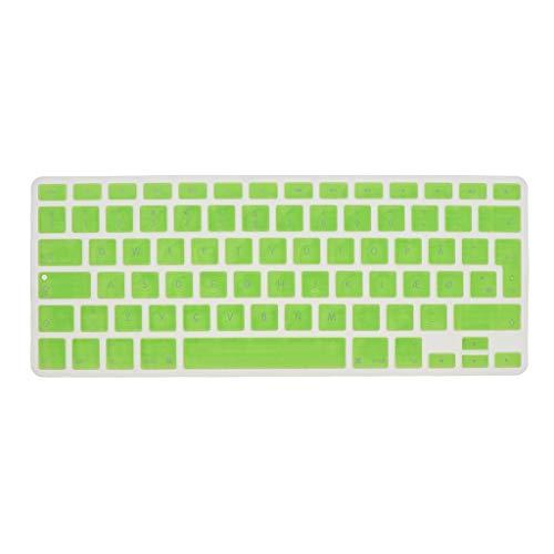 Shiwaki Dänische Phonetische Tastatur Schutzhülle, Kabellose Tastatur Schutzhülle Für 13,3 Zoll 15pro MacBook - Grün