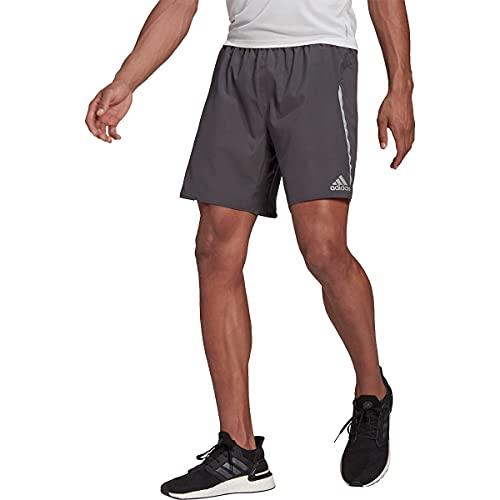 adidas Men's Saturday Shorts, Grey, Small