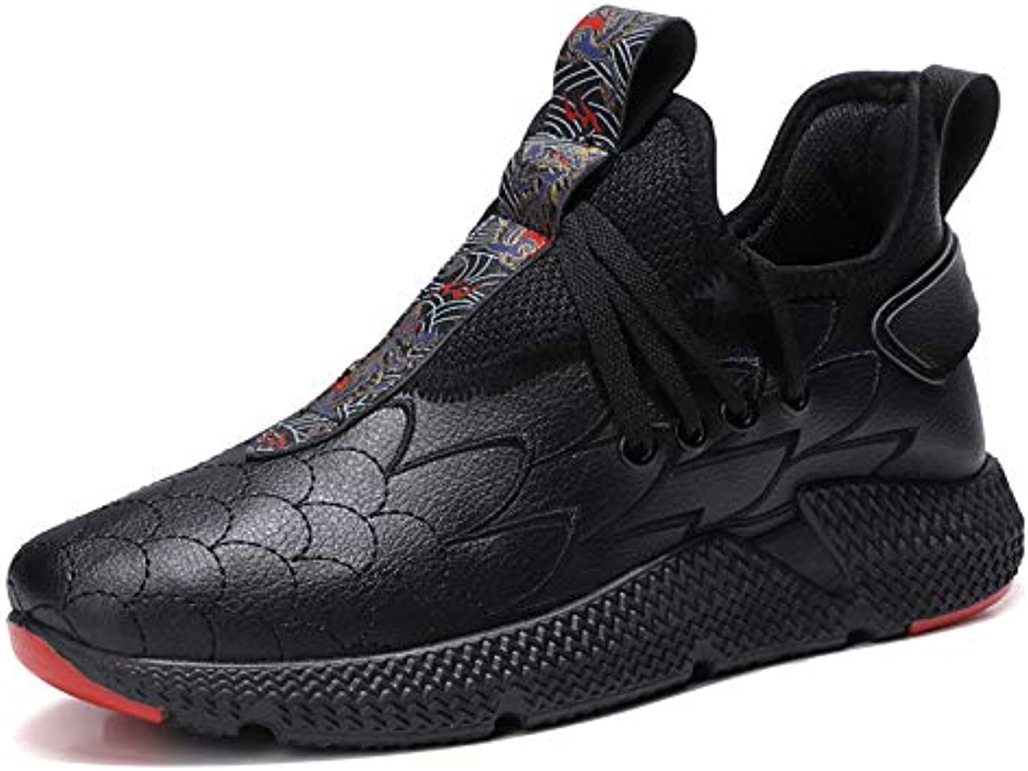 LOVDRAM Boots Men's New Men'S Fashion Personality Youth Youth Students Autumn And Winter Sports And Leisure Men'S shoes