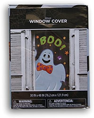 Halloween Spooky Ghost Window Cover - 30'' x 48'' by Retail