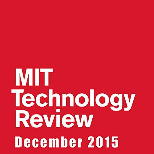 Audible Technology Review, December 2015 audiobook cover art