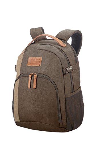 "SAMSONITE Rewind Natural - Laptop Backpack Medium for 15.6"" Mochila Tipo Casual, 46 cm, 23 Liters, Gris (Rock)"