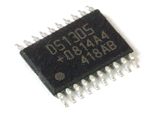 Dallas Semiconductor DS1305E Serial Alarm Real Time Clock RTC SMD IC TSSOP-20 (Generalüberholt)