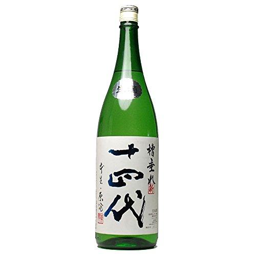 十四代 槽垂れ 純米吟醸 無濾過1800ml 高木酒造