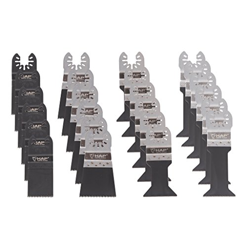 Lowest Prices! Harpow 24PC Blade for Oscillating Multi Tool
