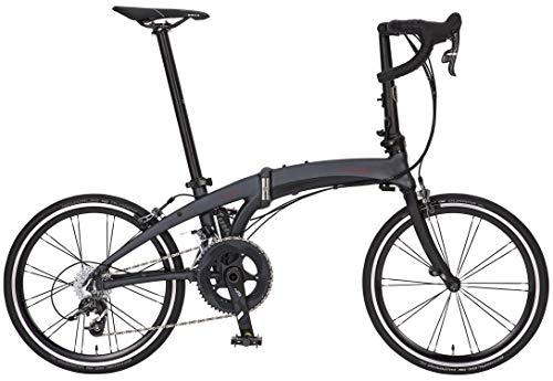 DAHON INTERNATIONAL(ダホン インターナショナル) Vigor LT フォールディングバイク 20インチ 2020 [外装22段変速 アルミフレーム] EDA025 スレートグレイ