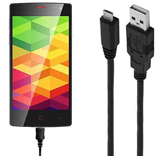 ASSMANN Ladekabel/Datenkabel kompatibel für Ulefone BE X - schwarz - 1m
