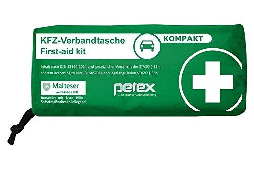 test Petex Erste-Hilfe-Tasche Slim Compact (grün) Deutschland