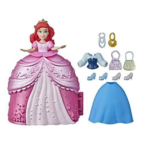 Disney Princess Secret Styles Fashion Surprise - Ariel, Mini playset per Bambola con Abiti e Accessori, Giocattolo per Bambine dai 4 Anni in su