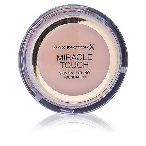 Max Factor Miracle Touch Foundation Bronze 80 – Grundierung, die von fest zu flüssig wechselt –...