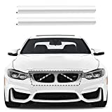 Inserción de Rejilla Frontal, 2 Tiras de Rejilla Cubierta Inserto de Accesorios de Auto Compatible para BMW F20 F21 F30 F31 F22 F23 F44 F45 F46 F33 F36 G30 G31 G38 G32 G12 para 1 2 3 4 5 6 7 Serie
