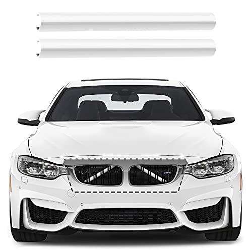 Frontgrill Einsatz, 2 Pcs Kühlergrill Zierleiste Streifen Abdeckung Kompatibel für BMW F20 F21 F30 F31 F34 F22 F23 F44 F45 F46 F32 F33 F36 G30 G31 G38 G32 G11 G12 Auto Zubehör für 1 2 3 4 5 6 7 Serie