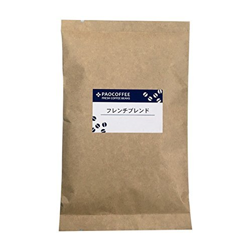 【自家焙煎コーヒー豆】【深煎り】 フレンチブレンド 100g (細挽き)