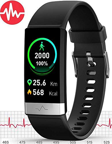 Cheapest Prices! MorePro E.C.G Fitness Tracker HRV,HD Color Screen Activity Tracker with Heart Rate ...