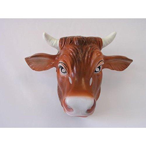 Cuernos de Vaca kuhmaske Vaca Mscara Mscara de Toro con Cuernos de Toro Animal de Peluche de la mscara