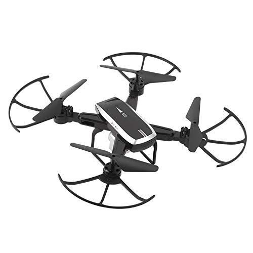 Mini Drone Folding Drone 4k High Definition Camera WiFi Real Time Transmission Drone Quadcopter Toys Gift(Black)